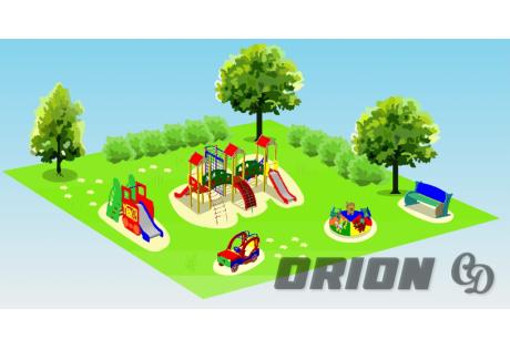 Детская игровая площадка «Праздник» - купить у производителя