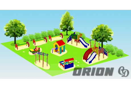 """Детская площадка """"Парк"""" - купить у производителя"""