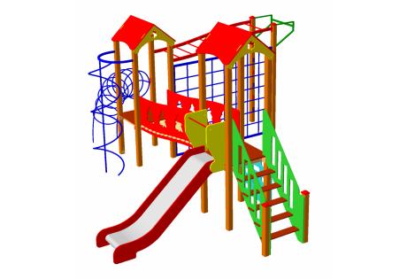 Детский игровой комплекс ДИК-51 - купить у производителя
