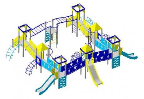 Детский игровой комплекс ДИК-21 - купить у производителя