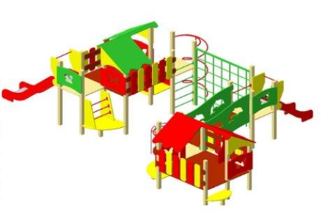 Детский игровой комплекс ДИК-17 - купить у производителя