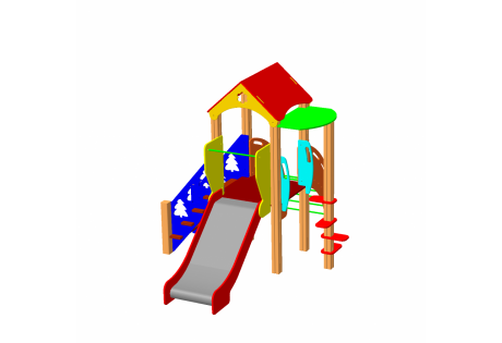 Детский игровой комплекс ДИК 1.02.М - купить у производителя