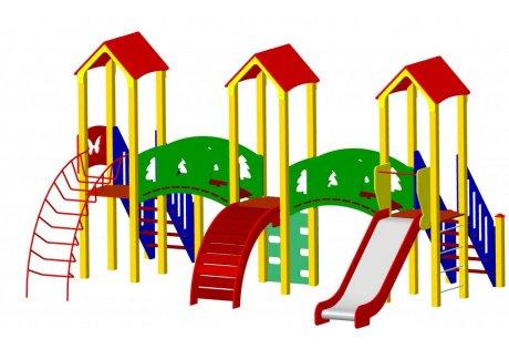 Детский игровой комплекс ДИК-43 - купить у производителя
