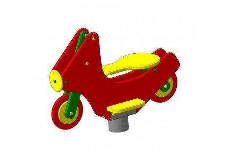 Качалка на пружине «Мотоцикл» - купить у производителя