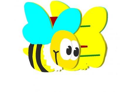 Качалка на пружине «Пчелка» - купить у производителя