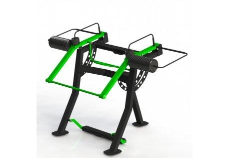 Тренажер уличный «Приседание» СВ 07 - купить у производителя