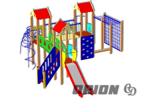 Детский игровой комплекс ДИК 67
