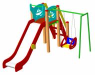 Детский игровой комплекс ДИК-38 - купить у производителя