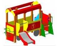 Детский игровой комплекс «Вагончик» - купить у производителя