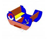 Качалка на пружине «Кораблик» - купить у производителя