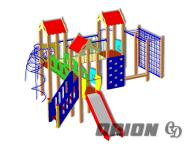 Детский игровой комплекс ДИК 67 - купить у производителя