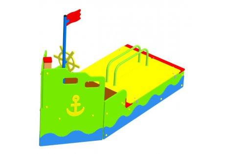 Песочница «Корабль» - купить у производителя