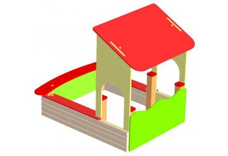 Песочница с крышей - купить у производителя