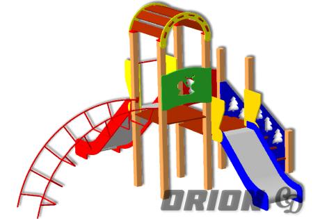 Детский игровой комплекс ДИК 68 - купить у производителя