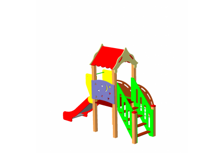Детский игровой комплекс ДИК 1.08.М - купить у производителя