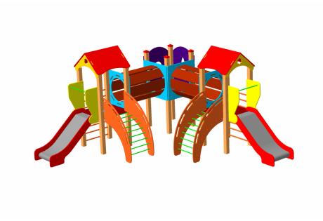 Детский игровой комплекс ДИК 64 - купить у производителя
