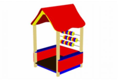 Домик-беседка «Счеты» - купить у производителя