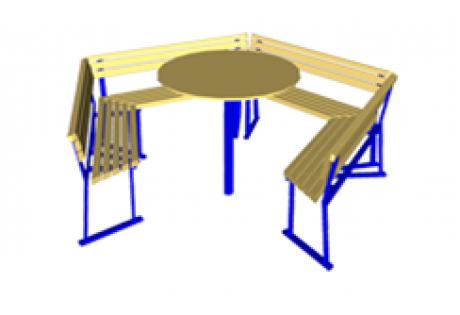 Комплект «Скамейка-стол» - купить у производителя