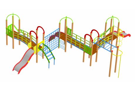 Детский игровой комплекс ДИК-12 - купить у производителя