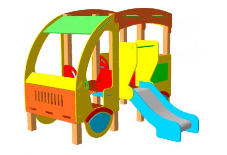 Автобус с горкой - купить у производителя