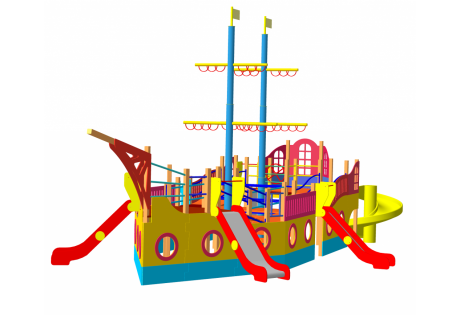 Детский игровой комплекс «Корабль» - купить у производителя