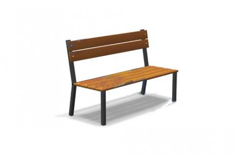 Скамейка без подлокотников - купить у производителя