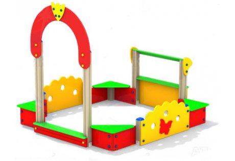 Детский песочный дворик со счетами - купить у производителя