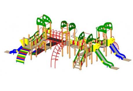 Детский игровой комплекс «Большой» - купить у производителя