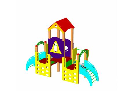 Детский игровой комплекс ДИК 1.06.М - купить у производителя