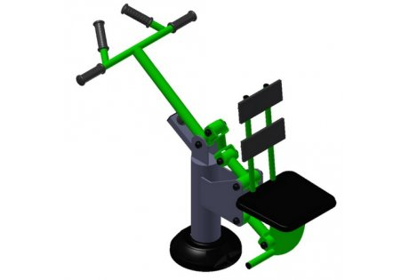Тренажер уличный «Рычажная тяга» - купить у производителя