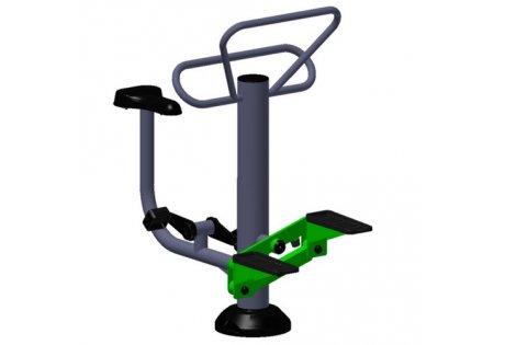 Тренажер уличный «Степ + Вело» - купить у производителя