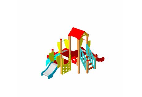 Детский игровой комплекс ДИК 1.10.М - купить у производителя