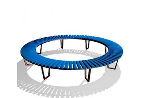 Скамья парковая круглая СП-7.1 - купить у производителя