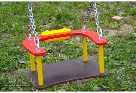 Сиденье для качелей со спинкой и цепями - купить у производителя