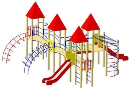 Детский игровой комплекс ДИК-20 - купить у производителя