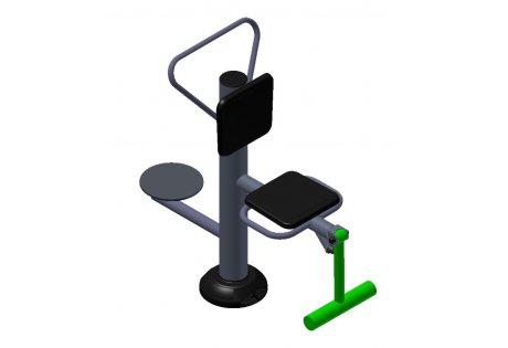 Тренажер уличный «Флекс + Диск» - купить у производителя