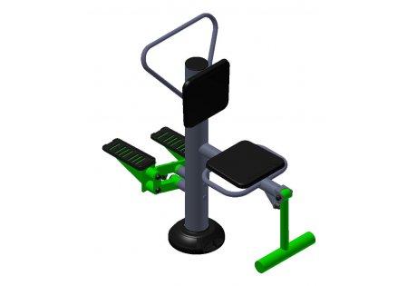 Тренажер уличный «Флекс + Степ» - купить у производителя