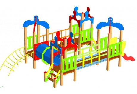 Детский игровой комплекс ДИК-81 - купить у производителя