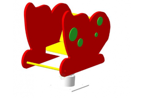 Качалка на пружине «Бабочка» - купить у производителя