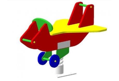 Качалка на пружине «Самолет» - купить у производителя