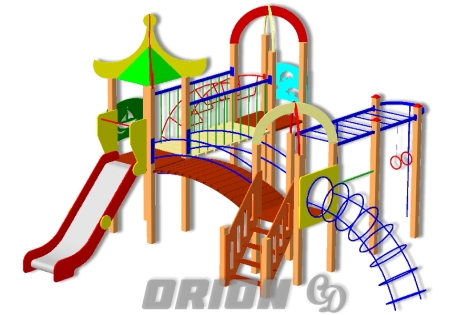 Детский игровой комплекс ДИК 77 - купить у производителя