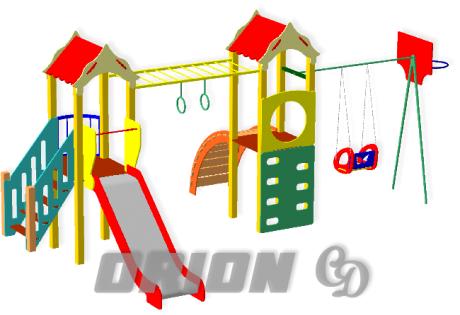 Детский игровой комплекс ДИК 75 - купить у производителя