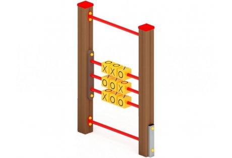 Крестики-нолики на столбах - купить у производителя