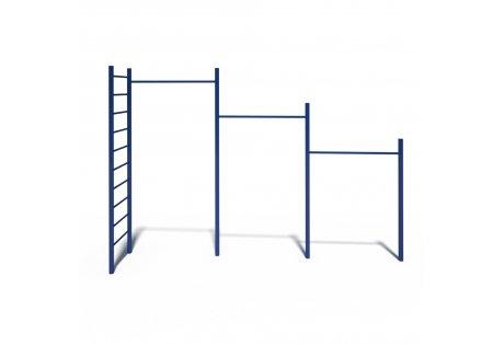 Турник 3-х уровневый с лестницей - купить у производителя