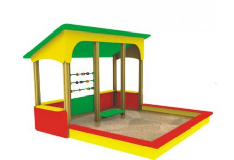 Веранда-песочница со счётами - купить у производителя