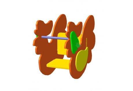 Качалка на пружине «Петушок» - купить у производителя