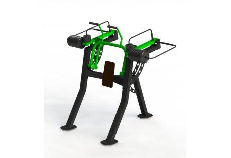 Тренажер уличный «Пресс машина» СВ 04 - купить у производителя