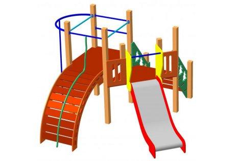 Детский игровой комплекс ДИК-63 - купить у производителя