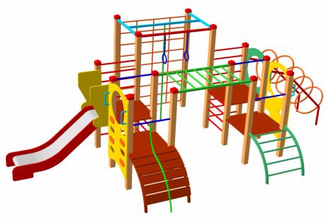 Детский игровой комплекс ДИК-78 - купить у производителя
