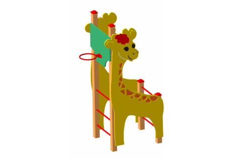 Детский спортивный комплекс «Жираф» - купить у производителя